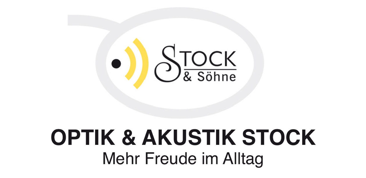 Optik und Akustik Stock Logo